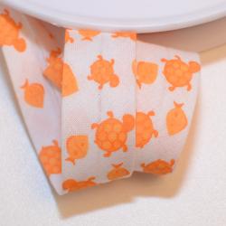"""Schrägband """"Schildkröte"""" orange"""