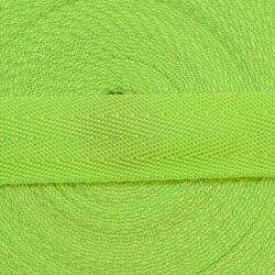 Gurtband 25mm apfelgrün