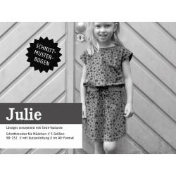 Julie - Bequemes Jerseykleid mit Gürtel