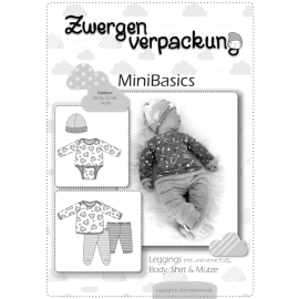 Mini Basics - Body, Shirt, Leggings und Mütze