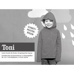 Toni - gemütlicher Kapuzenpulli für Jungs &...