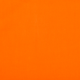 Popeline uni orange