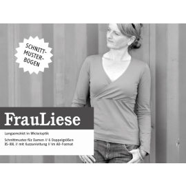 FrauLiese - Shirt mit Wickeloptik