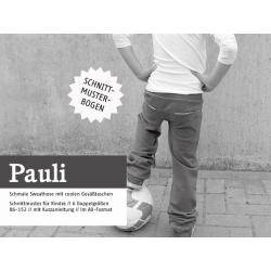 Pauli - schmale Sweathose mit coolen Taschen
