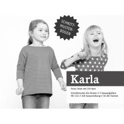 Karla - Tolles Shirt mit 3/4-Ärmel