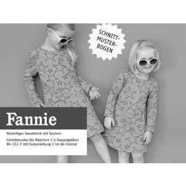 Fannie - vielseitiges Sweatkleid