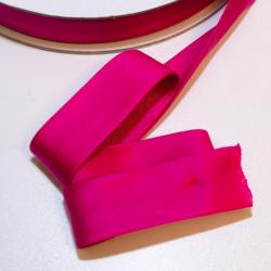 Schrägband Jersey uni pink