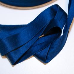 Schrägband Jersey uni royalblau