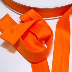 Schrägband Jersey uni orange