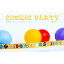 Cosmic Party gelb Webband