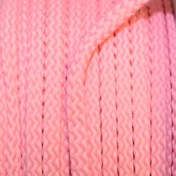 Kordel geflochten 6mm rosa