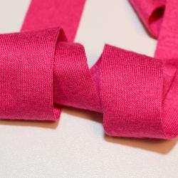 Schrägband Viskose-Jersey pink