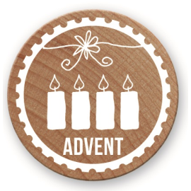 Woodies Stempel Advent