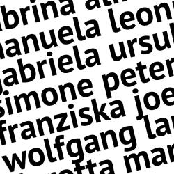 Schnörkellos bis 8 Buchstaben