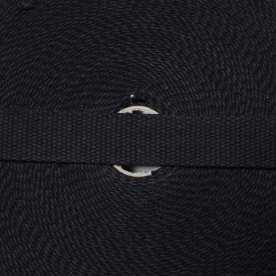 Baumwollgurtband 25mm schwarz