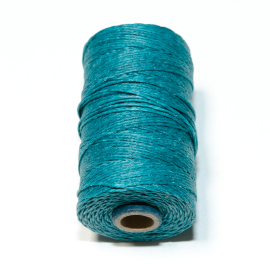 Irish waxed linen 4 ply Teal