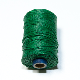 Irish waxed linen 4 ply Green