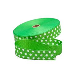 Gurtband Sterne grün