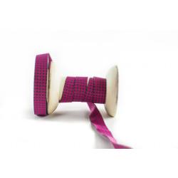 MINI staaars pink-grau, Webband
