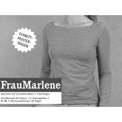 FrauMarlene - Basicshirt für Damen