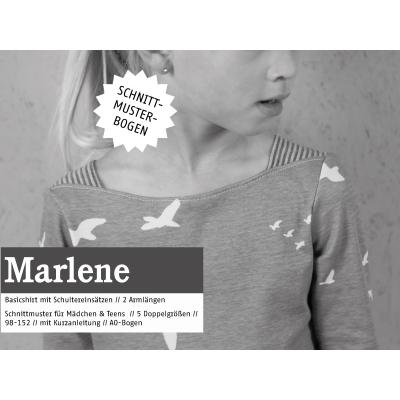 Marlene - Basicshirt für Mädchen