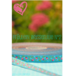 Fräulein Wasserlilie No. 2, Webband
