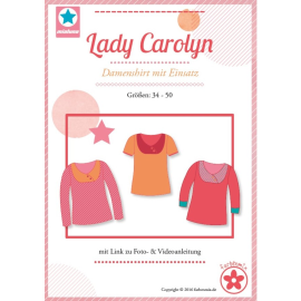 Lady Carolyn, Papierschnittmuster