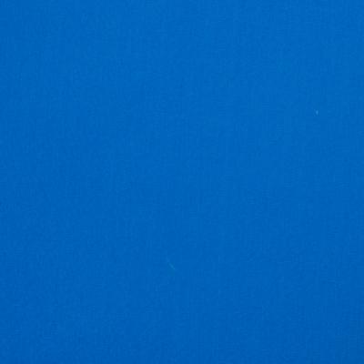 Popeline uni blau