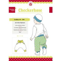 Checkerhose, Papierschnittmuster