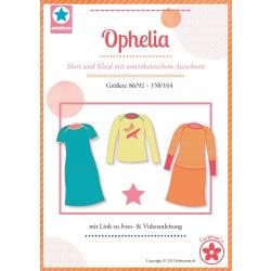 Ophelia, Papierschnittmuster