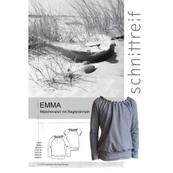 Emma - Mädchenshirt mit Raglanärmeln