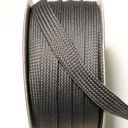 Kordeltresse dunkelgrau 12 mm