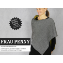 FrauPenny - asymetrischer Wendeponcho