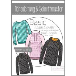 Basic Raglan Sweater Damen