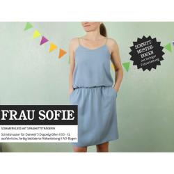 FrauSofie - Sommerkleid mit Spaghettiträgern