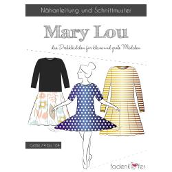 Papierschnittmuster Mary Lou Kinder von Fadenkäfer