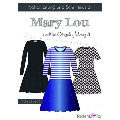 Papierschnittmuster Mary Lou Damen von Fadenkäfer