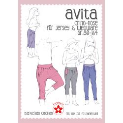 AVITA, Chino-Hose, Papierschnittmuster
