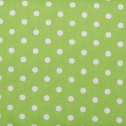 """Baumwolle """"Dots"""" apfelgrün"""