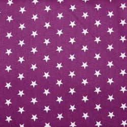 "Baumwolle ""Petit Stars"" violett"