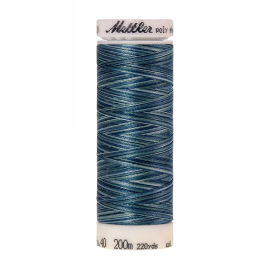 Poly Sheen Multi Indigo Shades Nr. 9928 - 200m