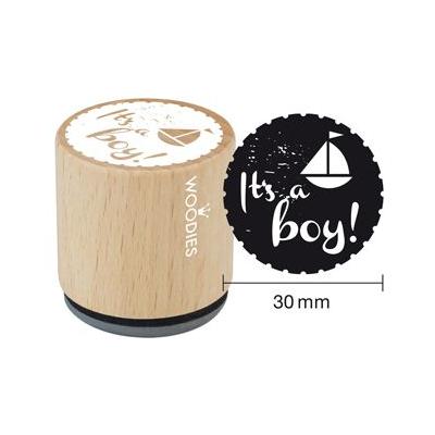 "Woodies Stempel ""Its a boy"""
