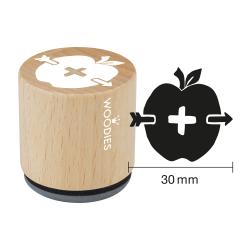"Woodies Stempel ""Apfel und Pfeil"""