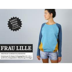 Frau Lille - Raglansweater mit schrägen...