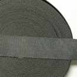 Umhängegurtband 35 mm dunkelgrau