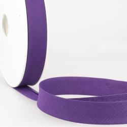 Schrägband uni violett