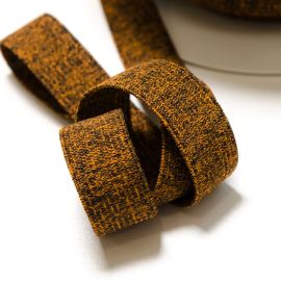 Unterwäsche-Gummiband 20 mm orange meliert