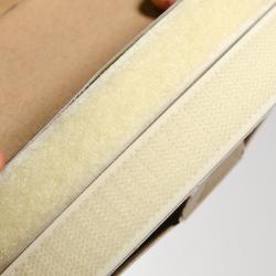 Klettverschluss 20 mm beige