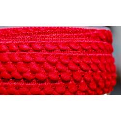 Mini-Pomponband, rot
