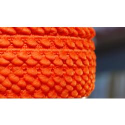 Mini-Pomponband, orange